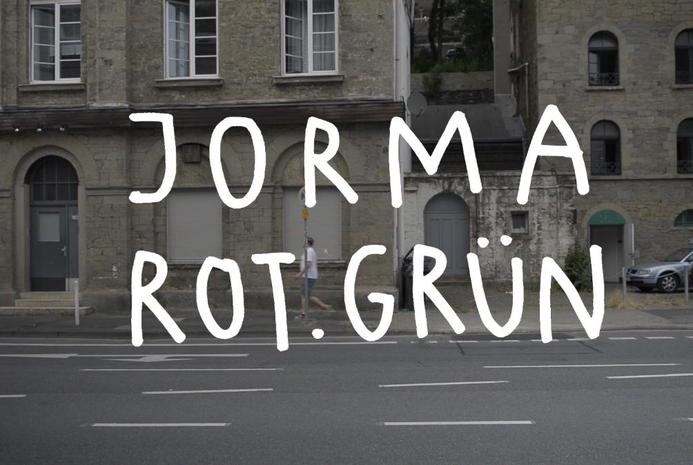 JORMA. ROT.GRÜN