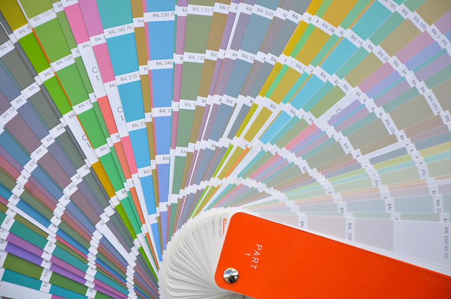 Farbsysteme RAL Design