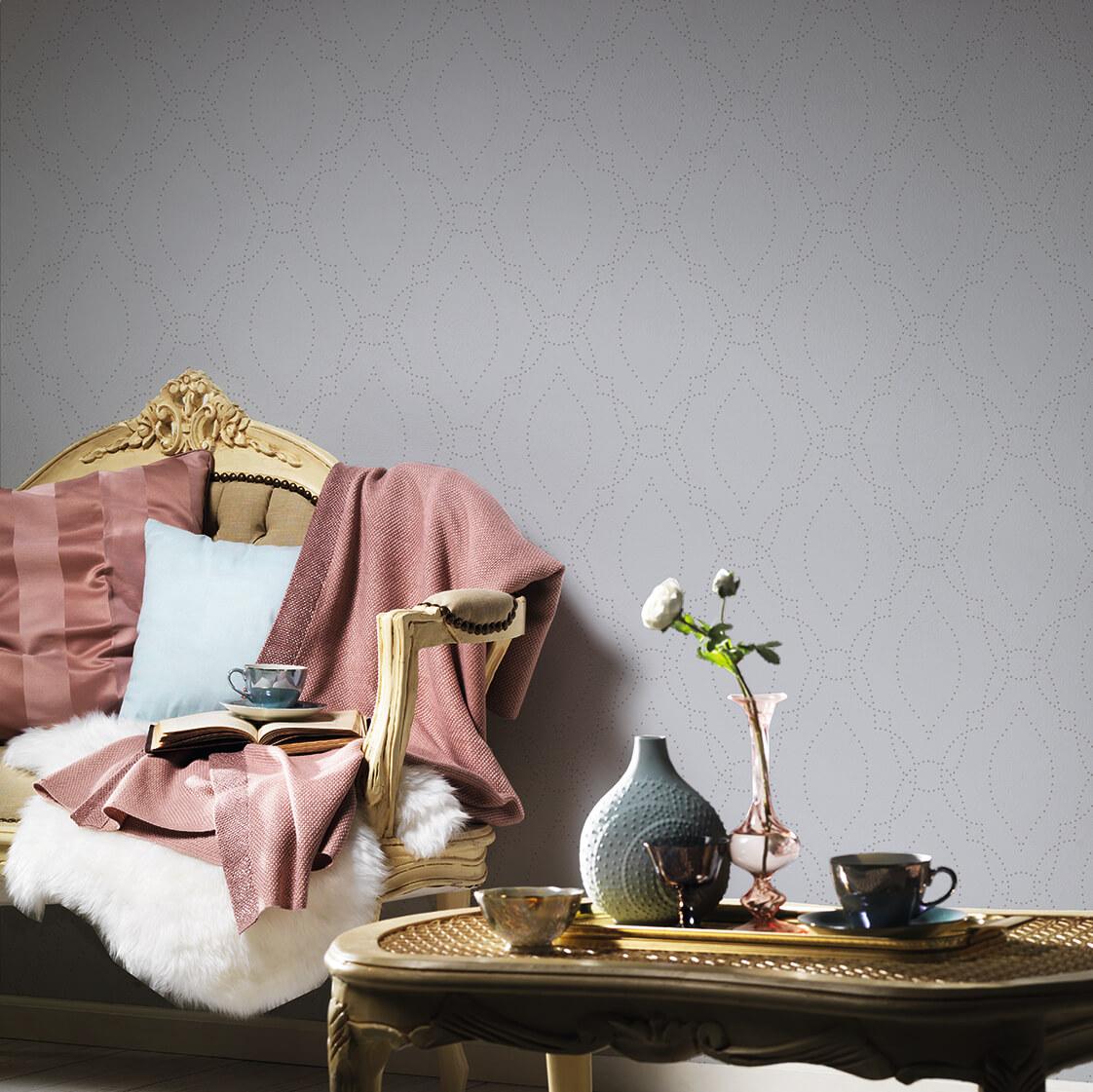 Ornament_Hellblau-Silber