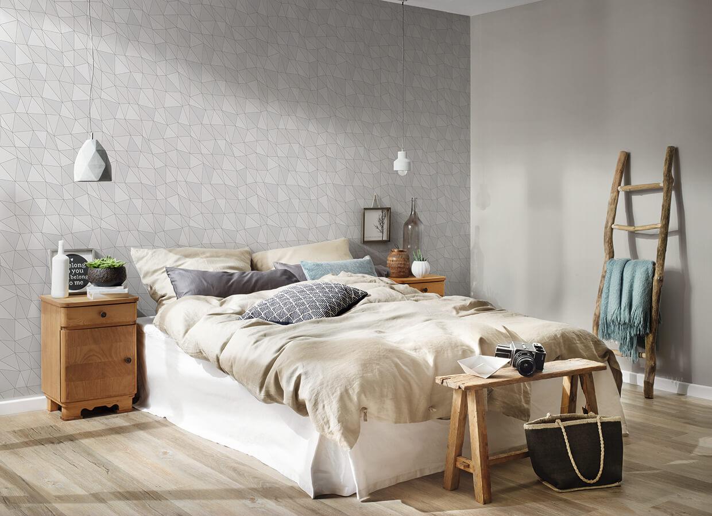Schlafzimmer mit Leiter