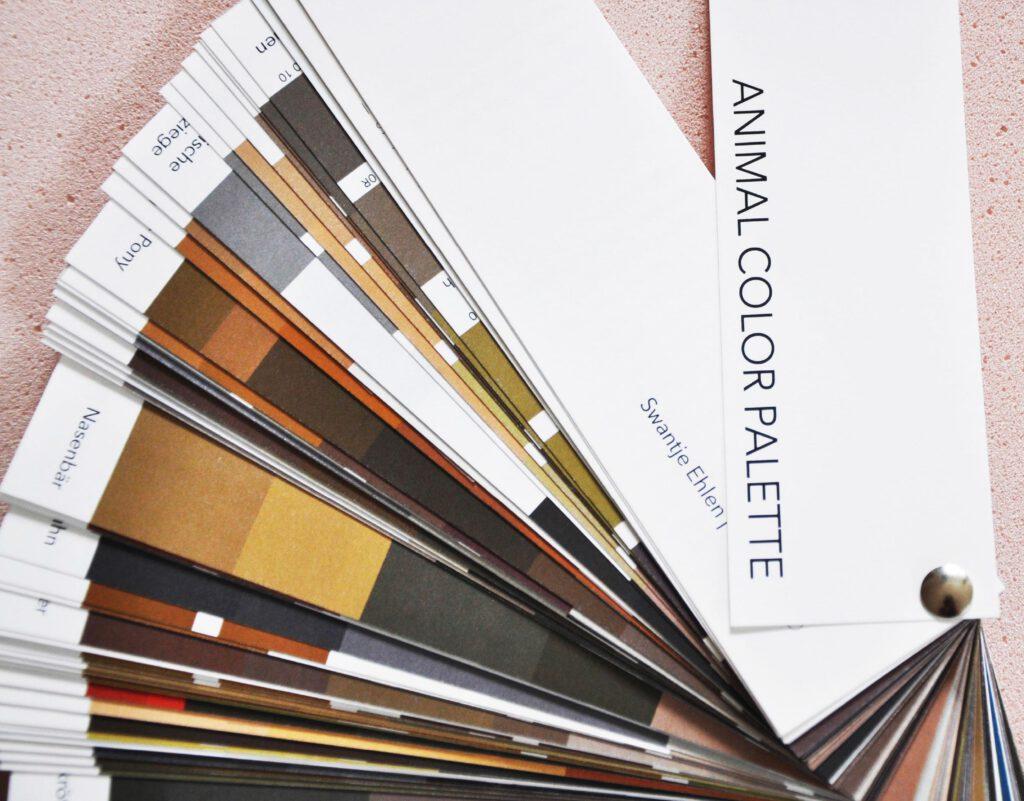 Animal color palette - Farben der Tiere