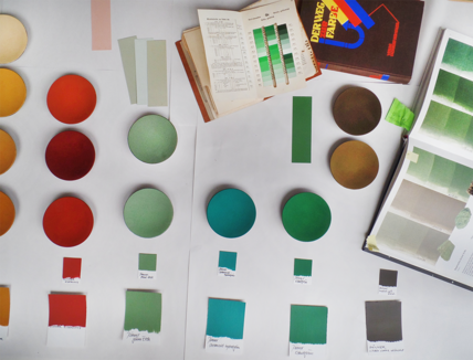 Lokalkolorit – Farbe Architektur Raum