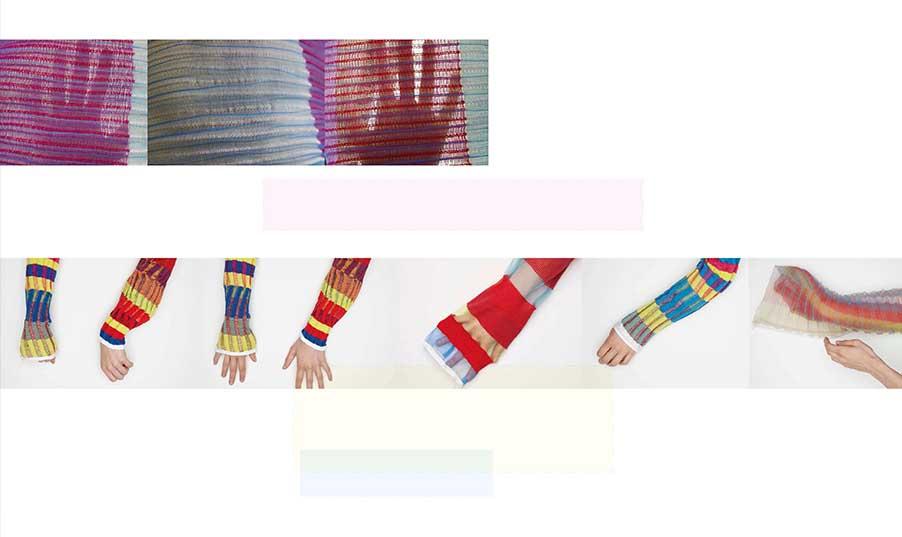 Komplementär – Farbwirkung von Gestricken