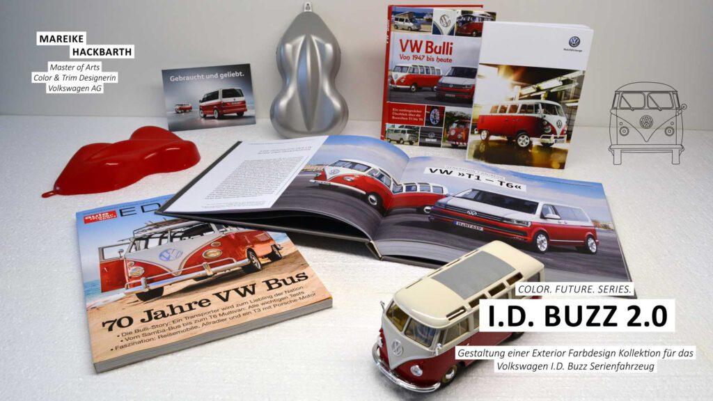 Farbdesign Kollektion für das Volkswagen